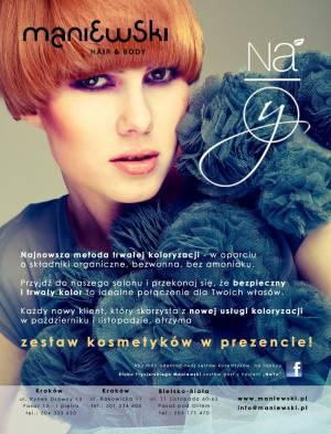 Koloryzacja NaYo - Idealne połączenie dla Twoich włosów